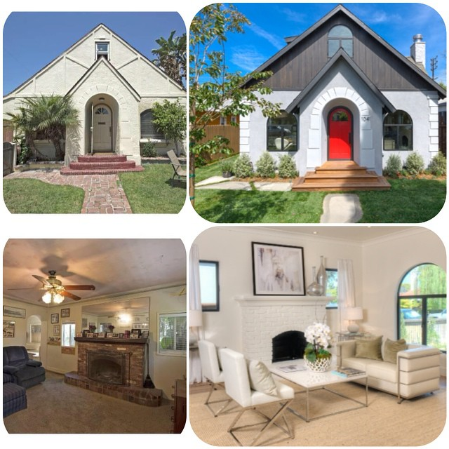 Beautiful Venice beach, CA  home. Before & after photos. Financing by #CrosswindFinancial