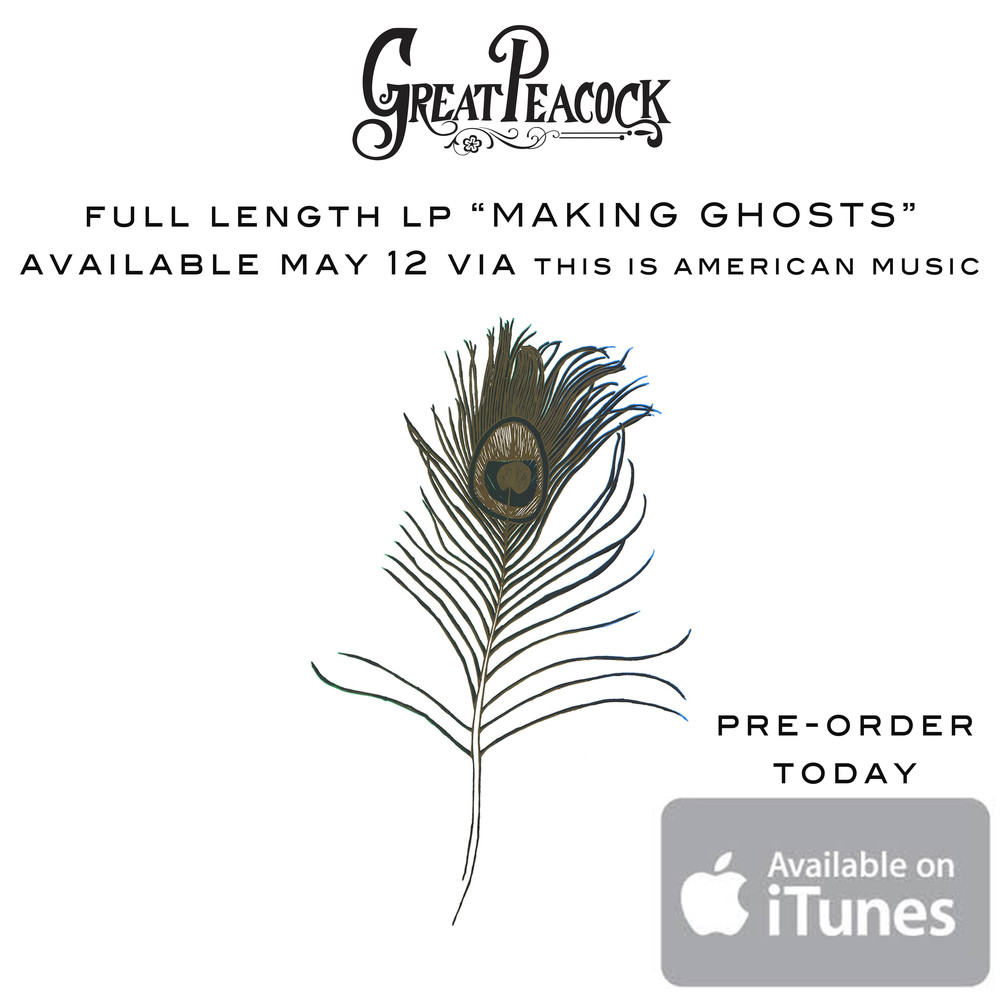 "We are very pleased to announce our LP ""Making Ghosts"" will be released May 12 with This Is American Music.  Save a few bucks and pre-order, there might be something in it for you?"