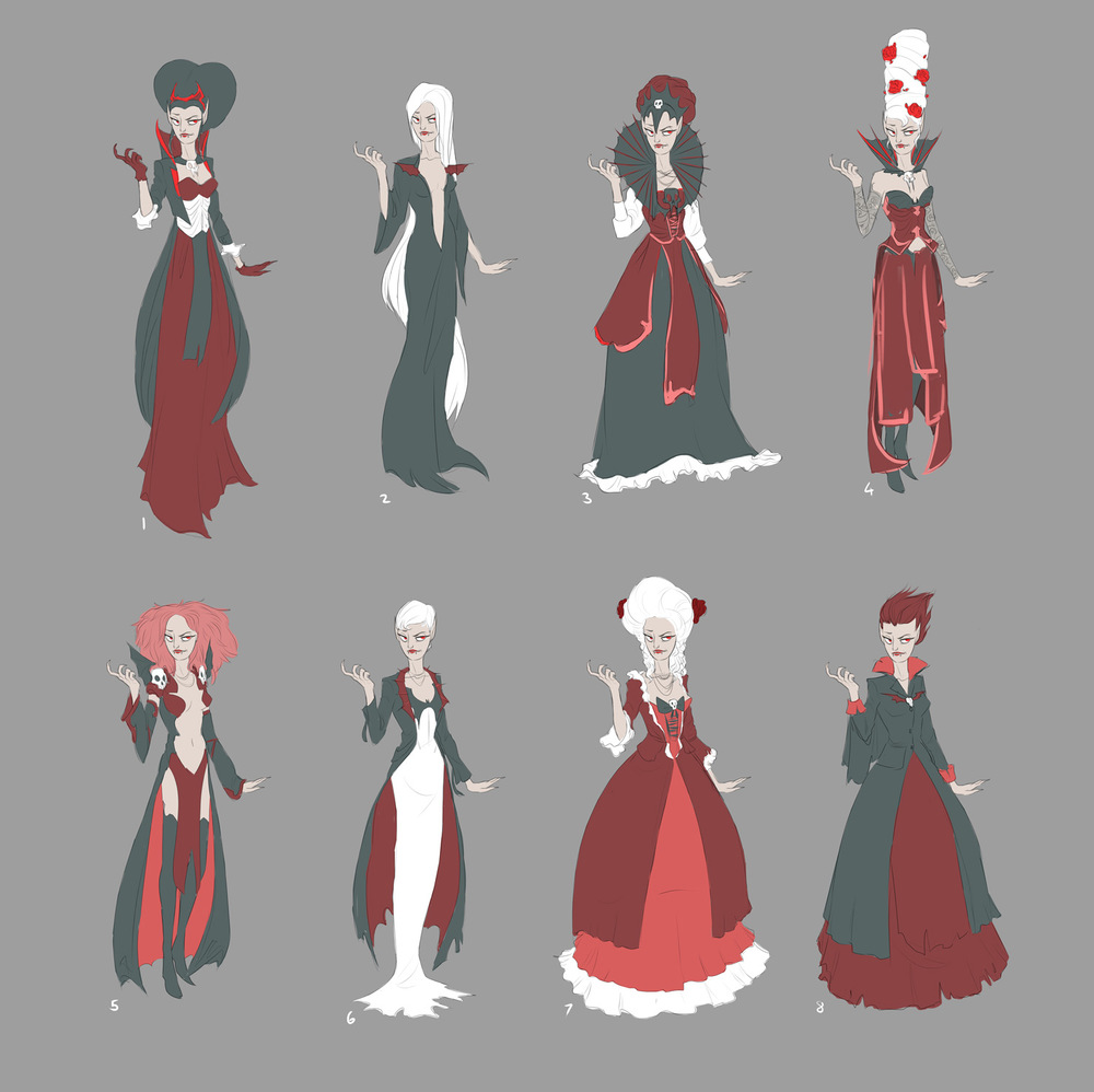 Concepts for our Boss Madam Moroi