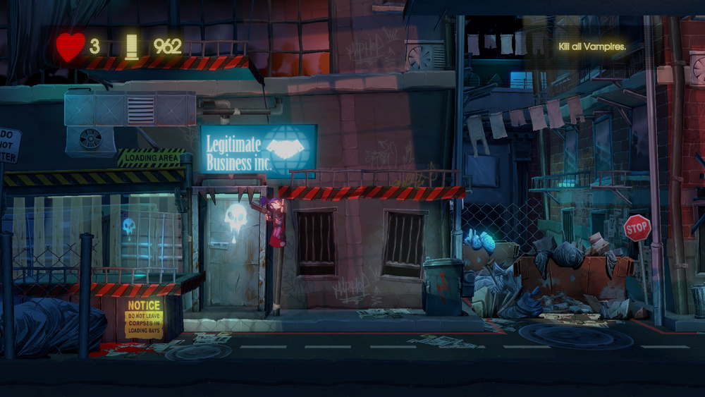 Brand new version of Back Alley USA