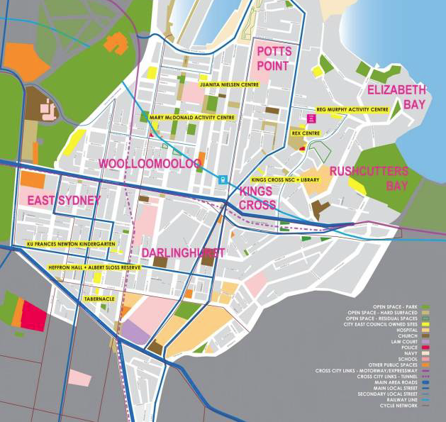 CITY EAST COMMUNITY AND CULTURAL PLAN    City of Sydney   As part of the creation of the Oxford Street Darlinghurst creative precinct in the City  ...more