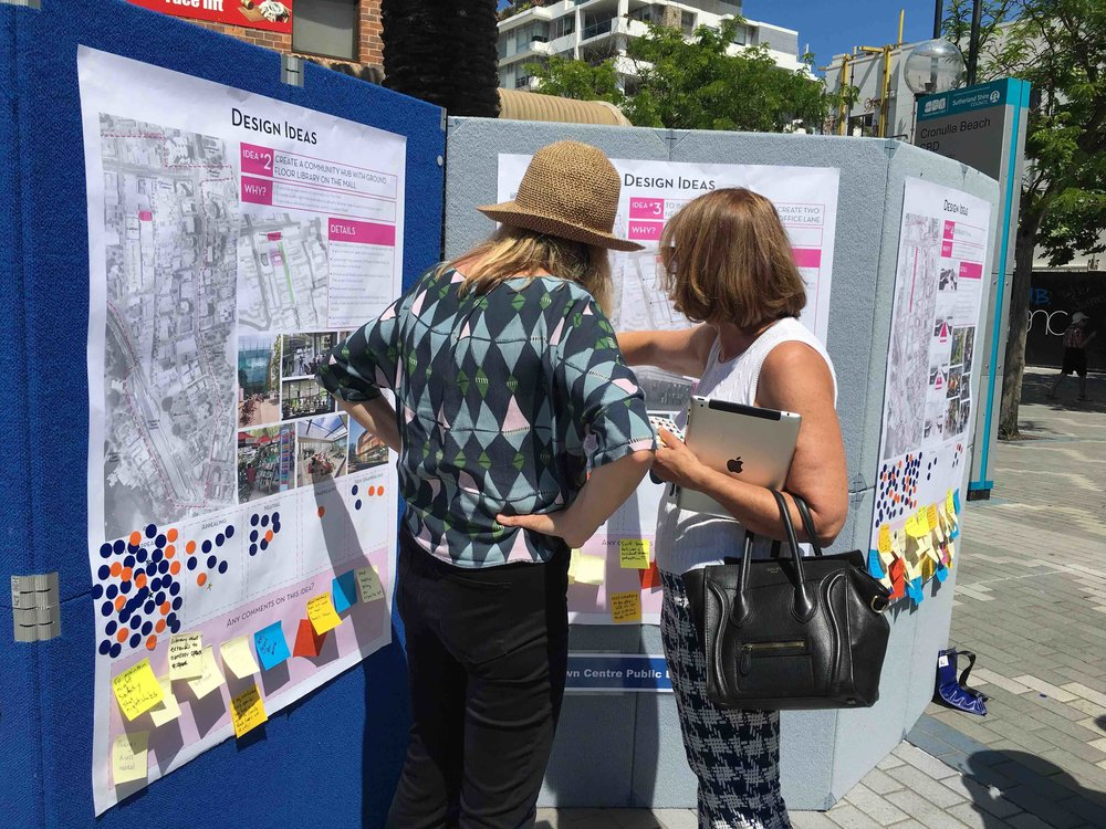 CRONULLA TOWN CENTRE PUBLIC DOMAIN MASTERPLAN COMMUNITY ENGAGEMENT    Sutherland Shire Council   We delivered the community engagement for  Gallagher Studio  to inform the Cronulla  ...more
