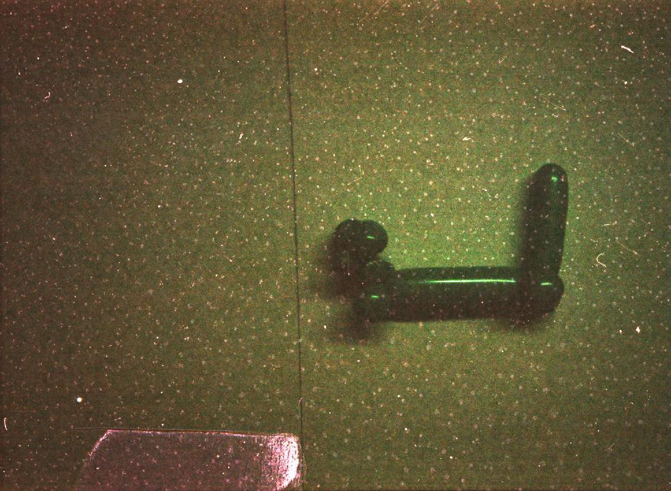 John in Lobby-35mm film; 2008