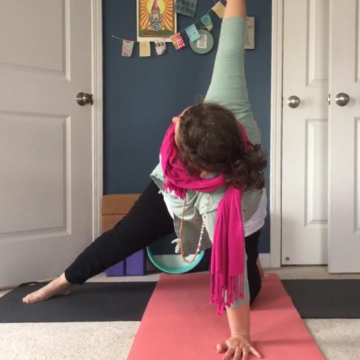 yoga twisted gate