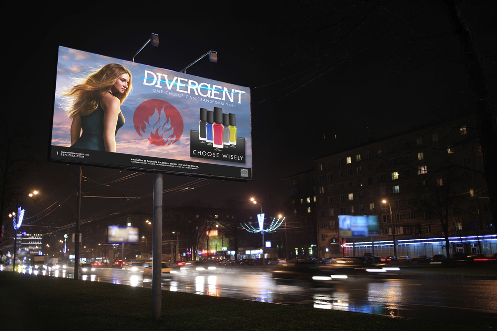 Divergent and Sephora Co-Branding Campaign