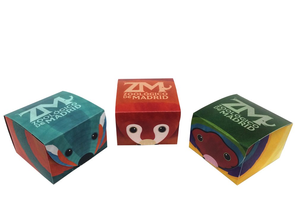 """""""Zoológico de Madrid"""" Logo and Packaging"""