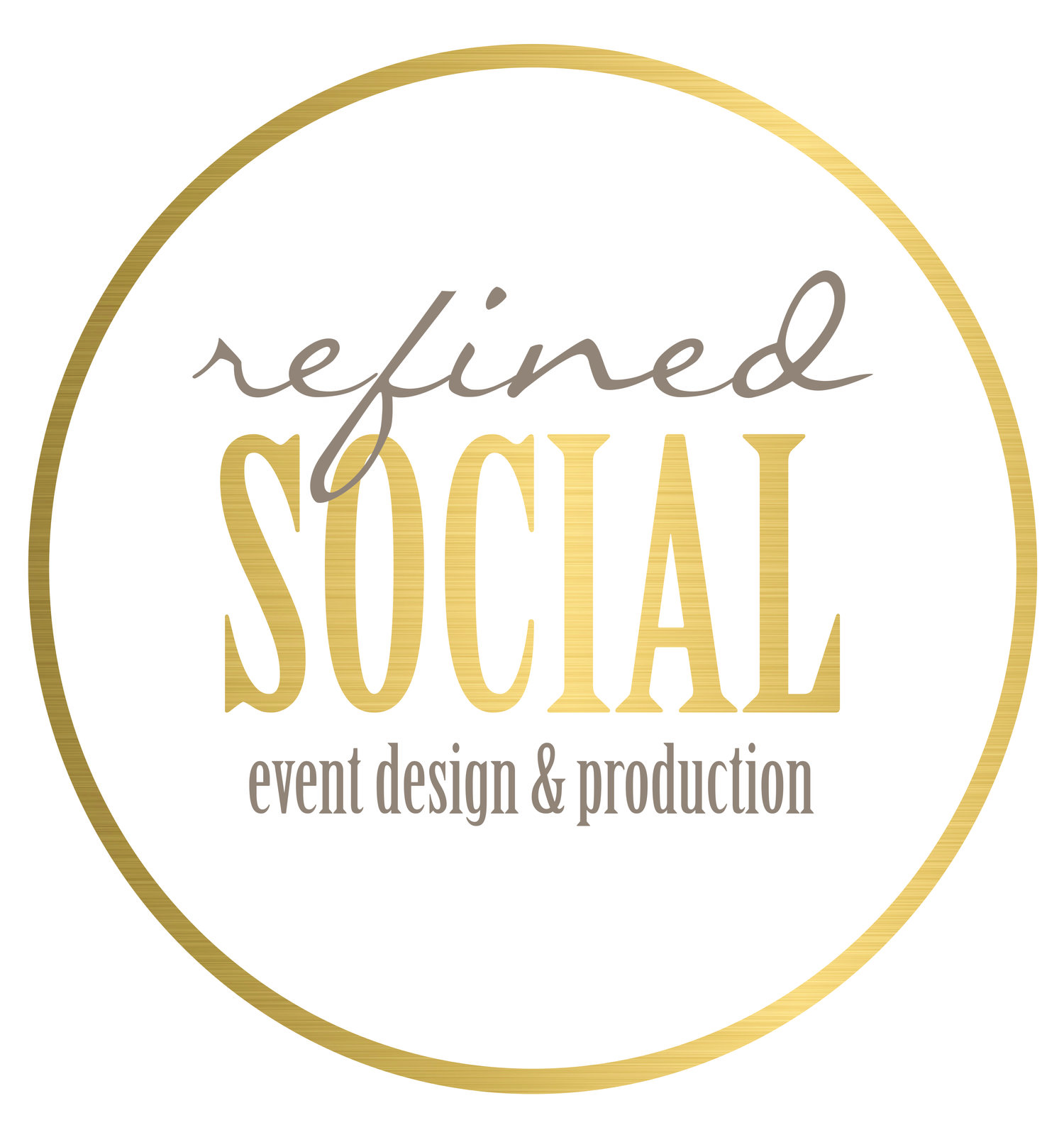 Refined Social Events & Design