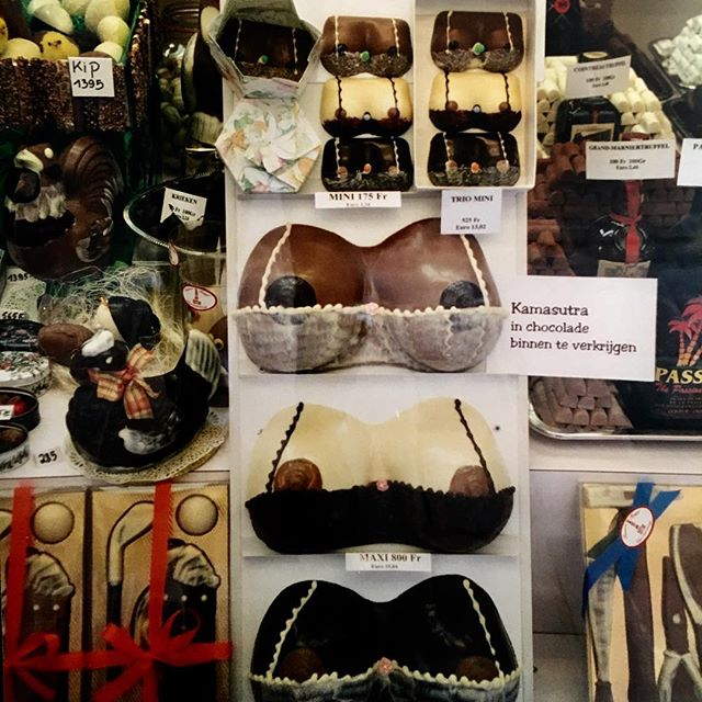 I can't remember where in #Europe I shot this. Yes, it's #chocolate #breasts. . . . . #art #artist #composer #electro #electronicmusic #fun #greek #happy #creative #love #music #musician #musicproducer #musicislife #newmusic #popart #smile #photography #travel #peace #peaceful #travelphotography #cool #adventure #beautiful #nude #breasts #candy