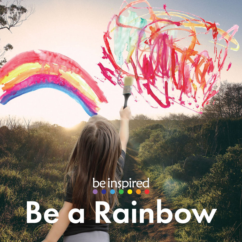 Be a Rainbow - A short 2 minute guided relaxation for children, to nurture and restore.
