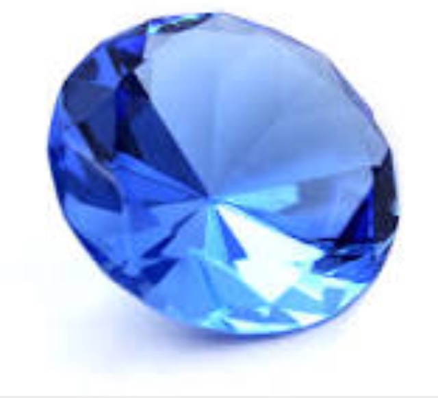The most popular colour of Sapphire...it's a beaut!