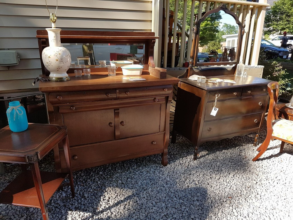 Some lovely pieces in original state!    Photo cred: Vintage 30