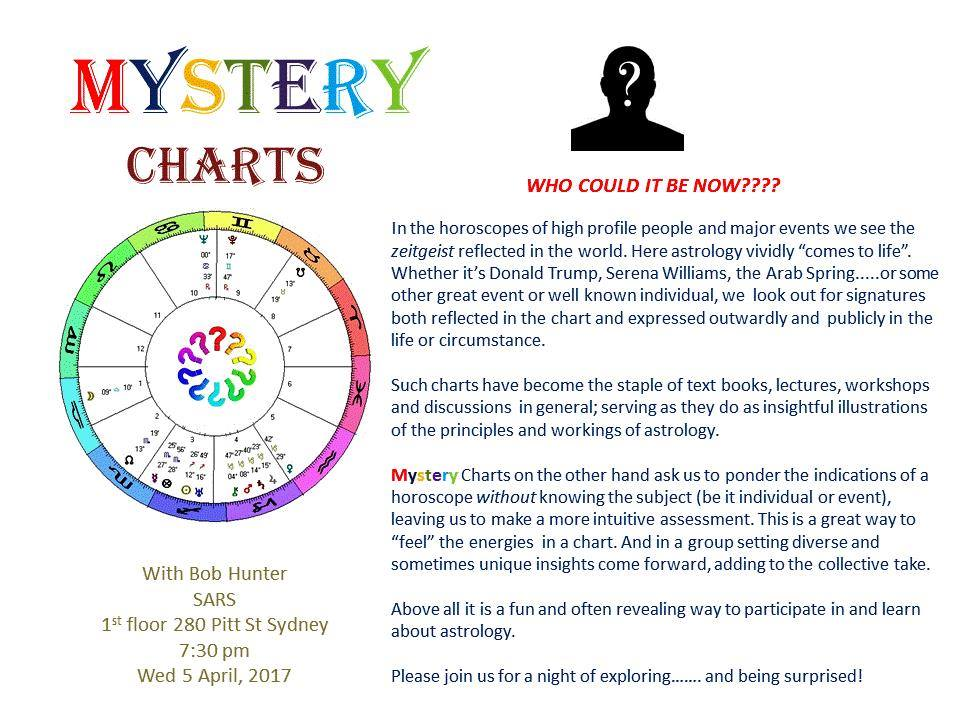 Mystery Charts Sydney Astrological Research Society