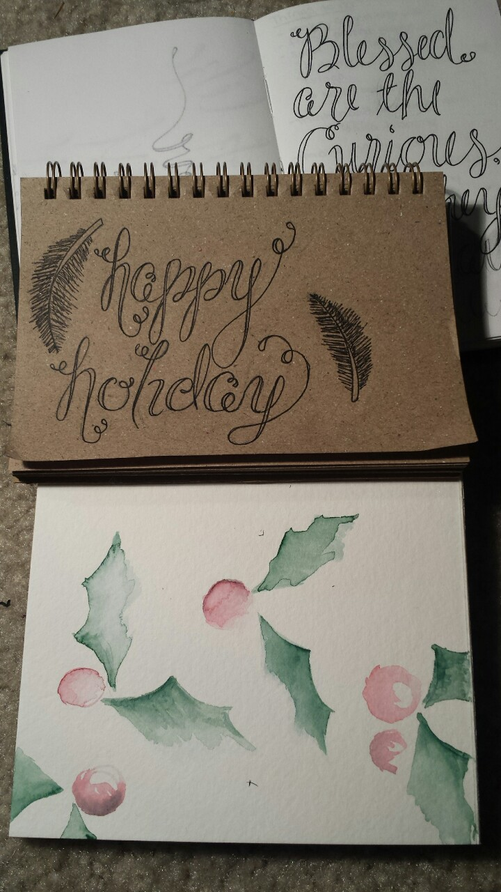 Getting those holiday cards ready!