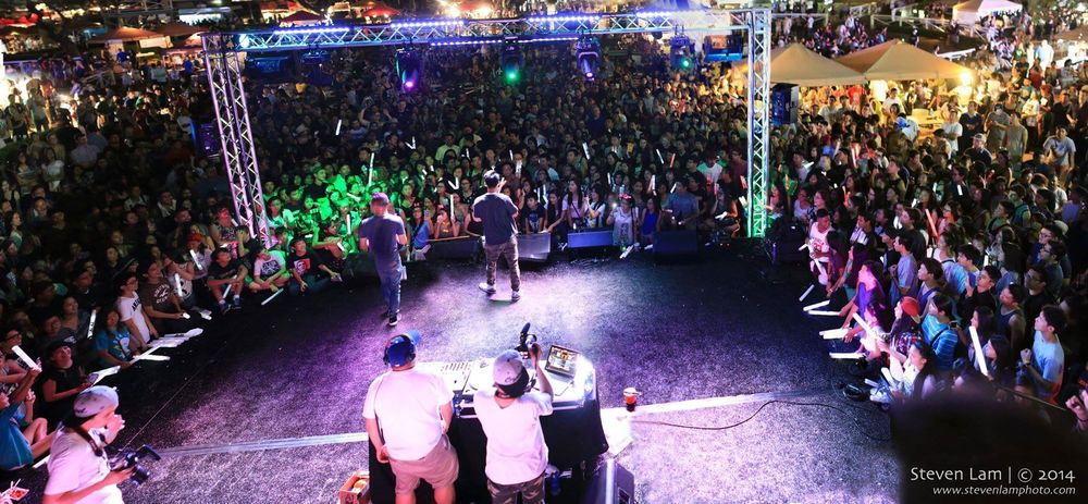 The Fung Brothers perform at 626 Night Market in September 2014. | Photo by Steven Lam