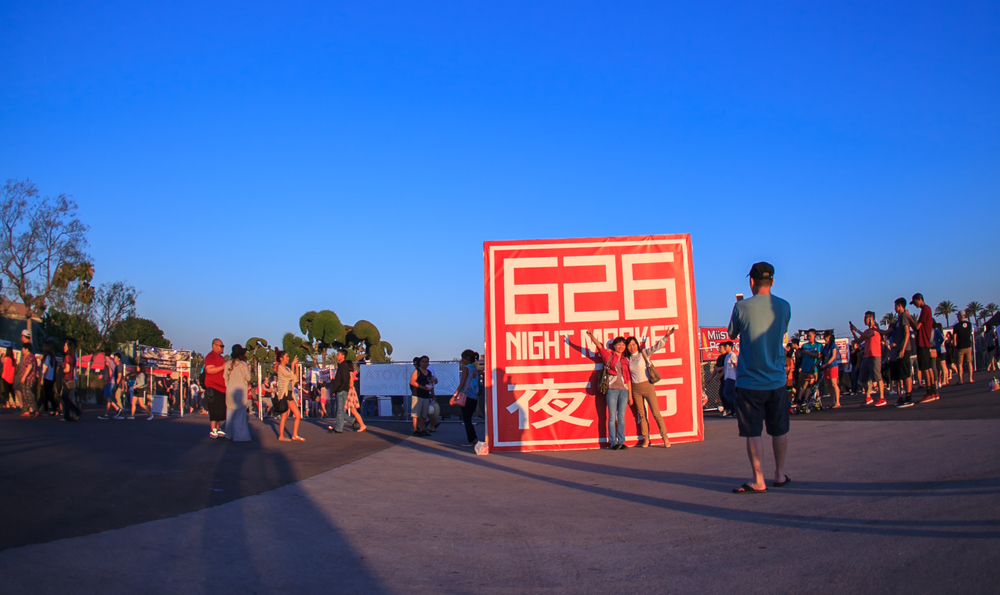 626 Night Market in July 2015. Photo by Daniel Kim.