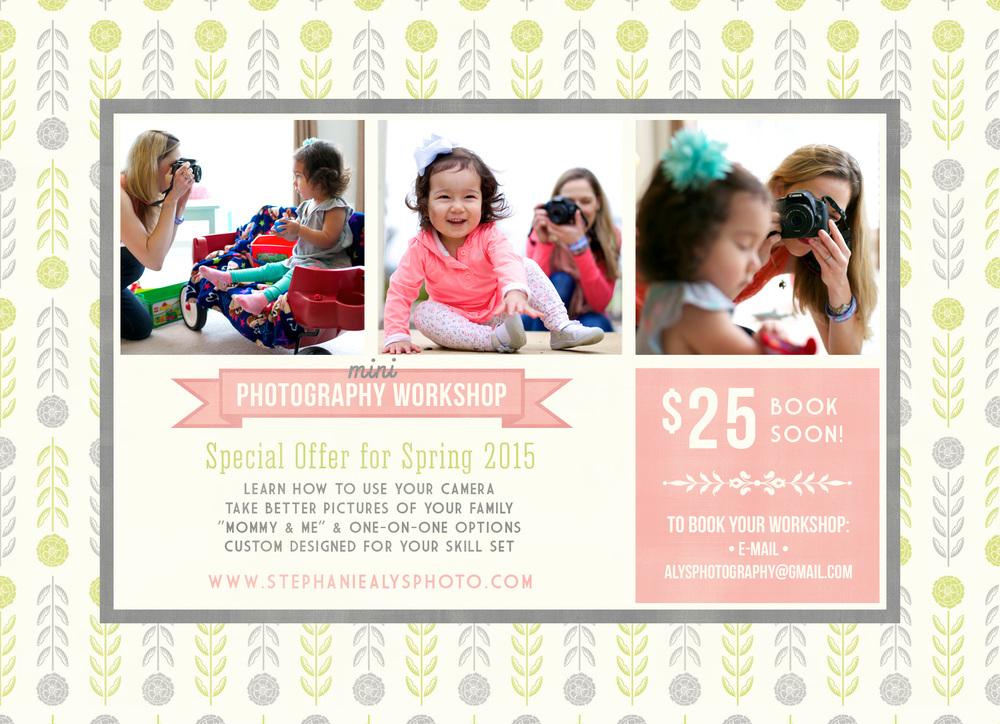 Mini Workshop with Stephanie Alys Photography