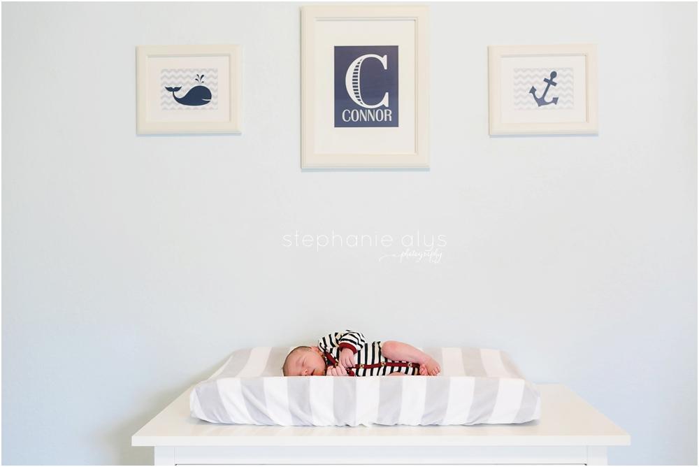 Connor • Cypress, Texas Newborn Photographer | © 2015 Stephanie Alys Photography