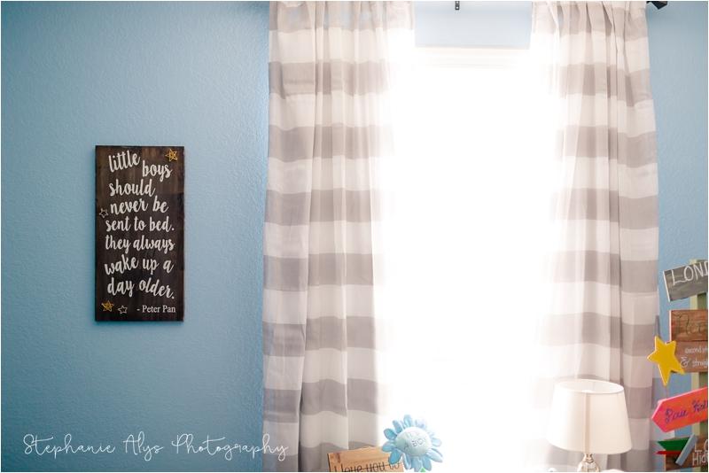 © 2018 Stephanie Alys Photography | Blog » Baby G • Neverland's Nursery• Cypress, TX Newborn Photographer