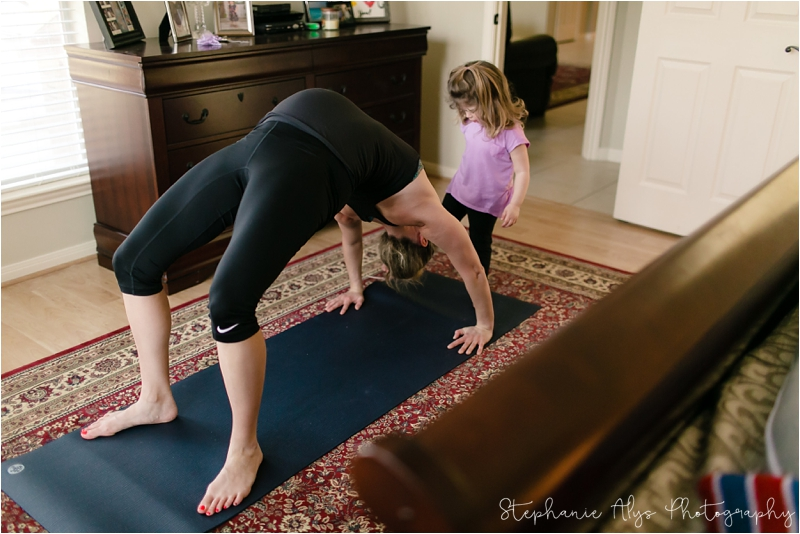 © 2018 Stephanie Alys Photography | You Matter Yoga • A YogiMama Session with Kristen | Cypress, TX Lifestyle Photographer