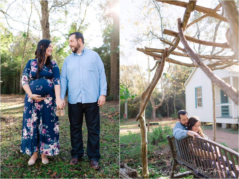 © 2017 Stephanie Alys Photography | Cypress Texas Maternity Photographer • Maternity Session at Kleb Woods