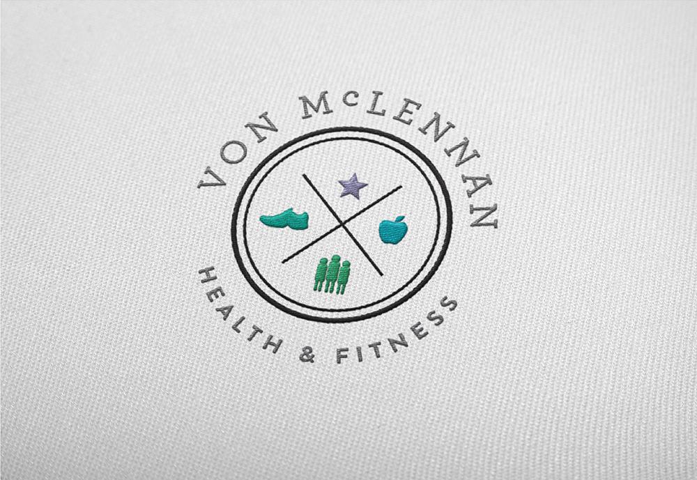 Georgie McKenzie Graphic Design | Von McLennan Health & Fitness