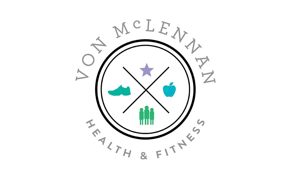 logo von mclennan georgie mckenzie graphic design