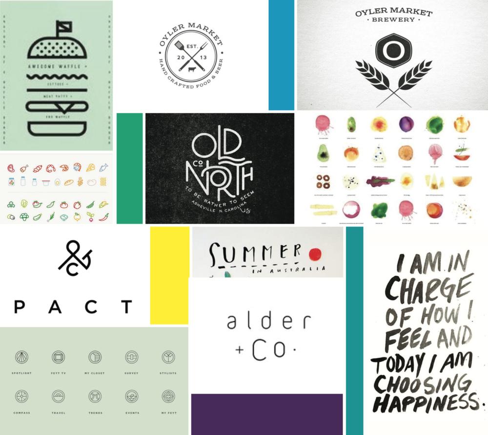 mood board von mclennan georgie mckenzie graphic design health fitness