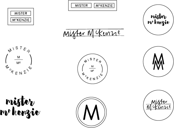 Georgie McKenzie Graphic Design | Mister McKenzie Jewellery | Branding | Development