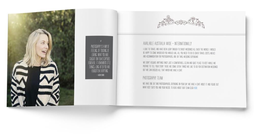 Alison Mayfield Wedding Photographer | Georgie McKenzie Graphic Design