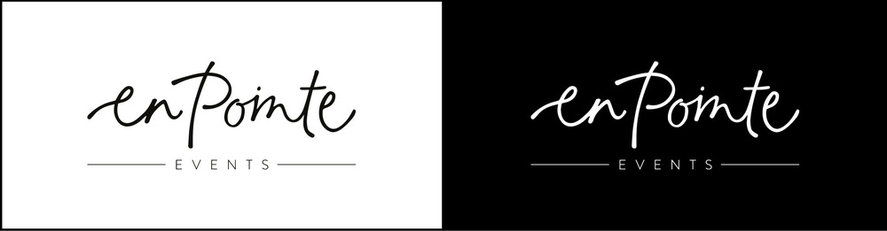 En Pointe Branding Logo | Georgie McKenzie Graphic Design
