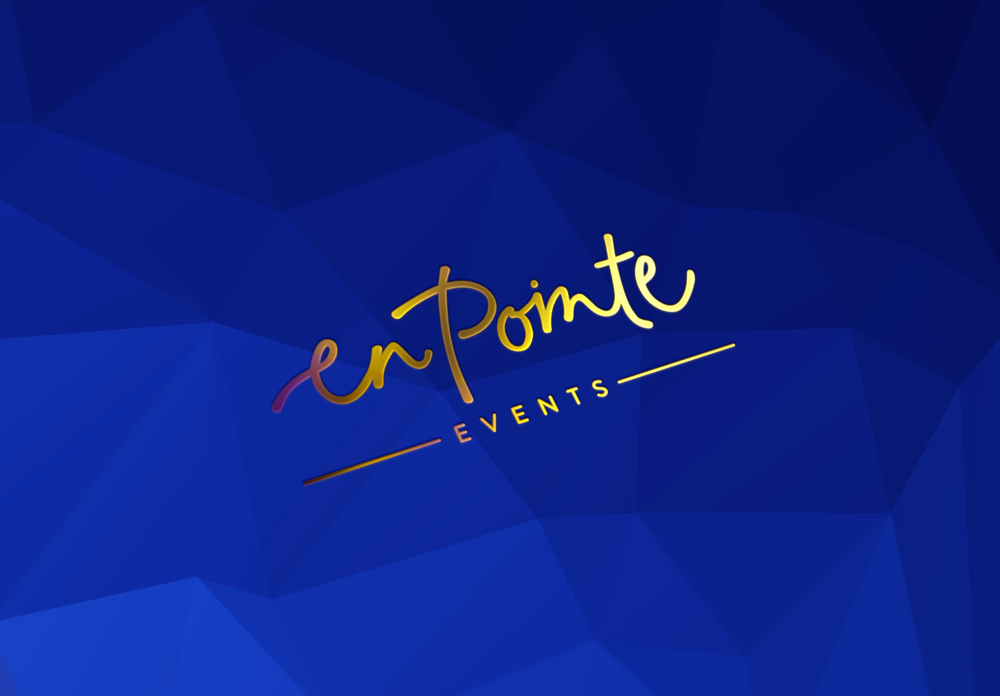 En Pointe Events | Georgie McKenzie Graphic Design | Logo Branding
