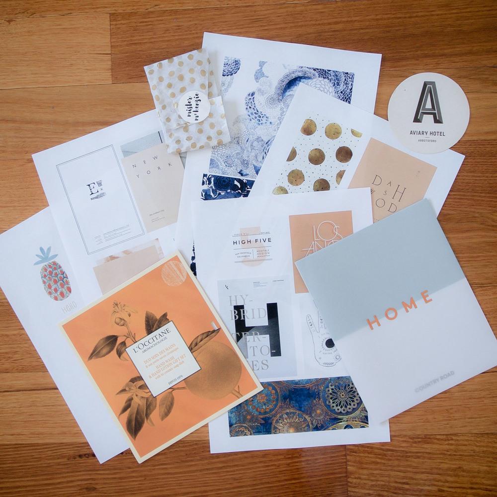 Georgie McKenzie Graphic Design | Blog - Moodboard How-to