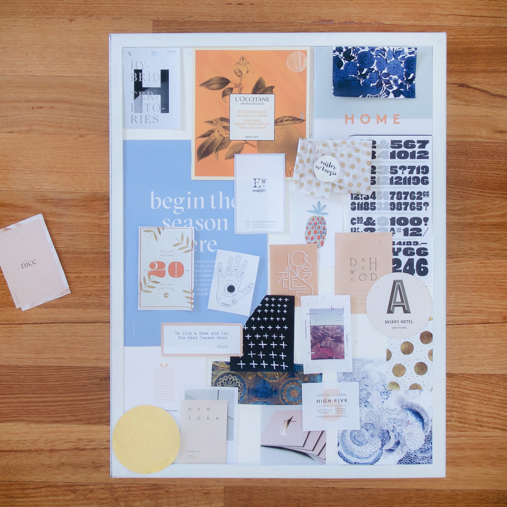 Georgie McKenzie Graphic Design | Blog | Moodboard How-to