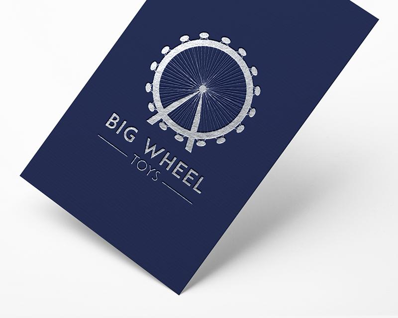 Georgie McKenzie Graphic Design | Portfolio | Big Wheel | Business Card Design
