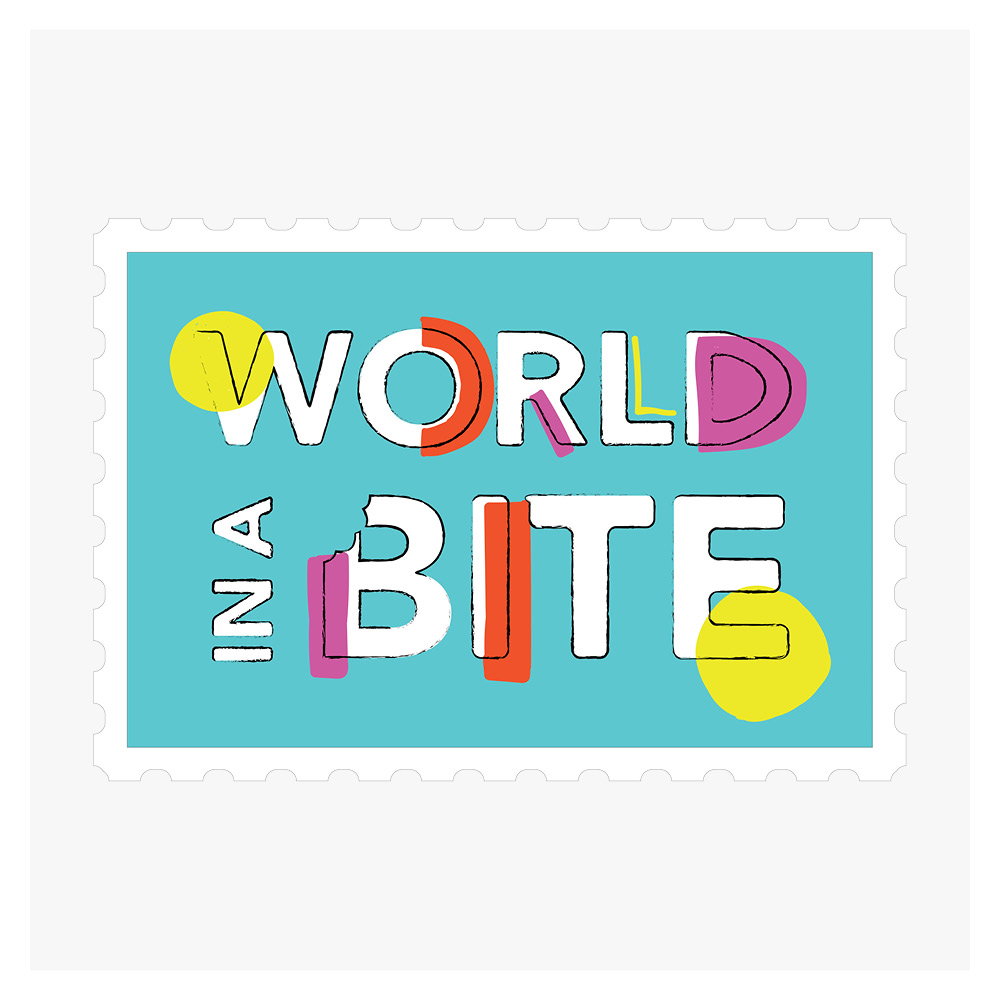 Georgie McKenzie Graphic Design | World in a Bite Branding