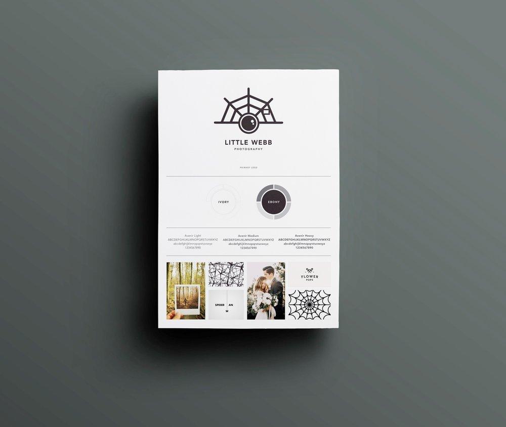 Georgie McKenzie Graphic Design | Amy Webb Logo Design Branding