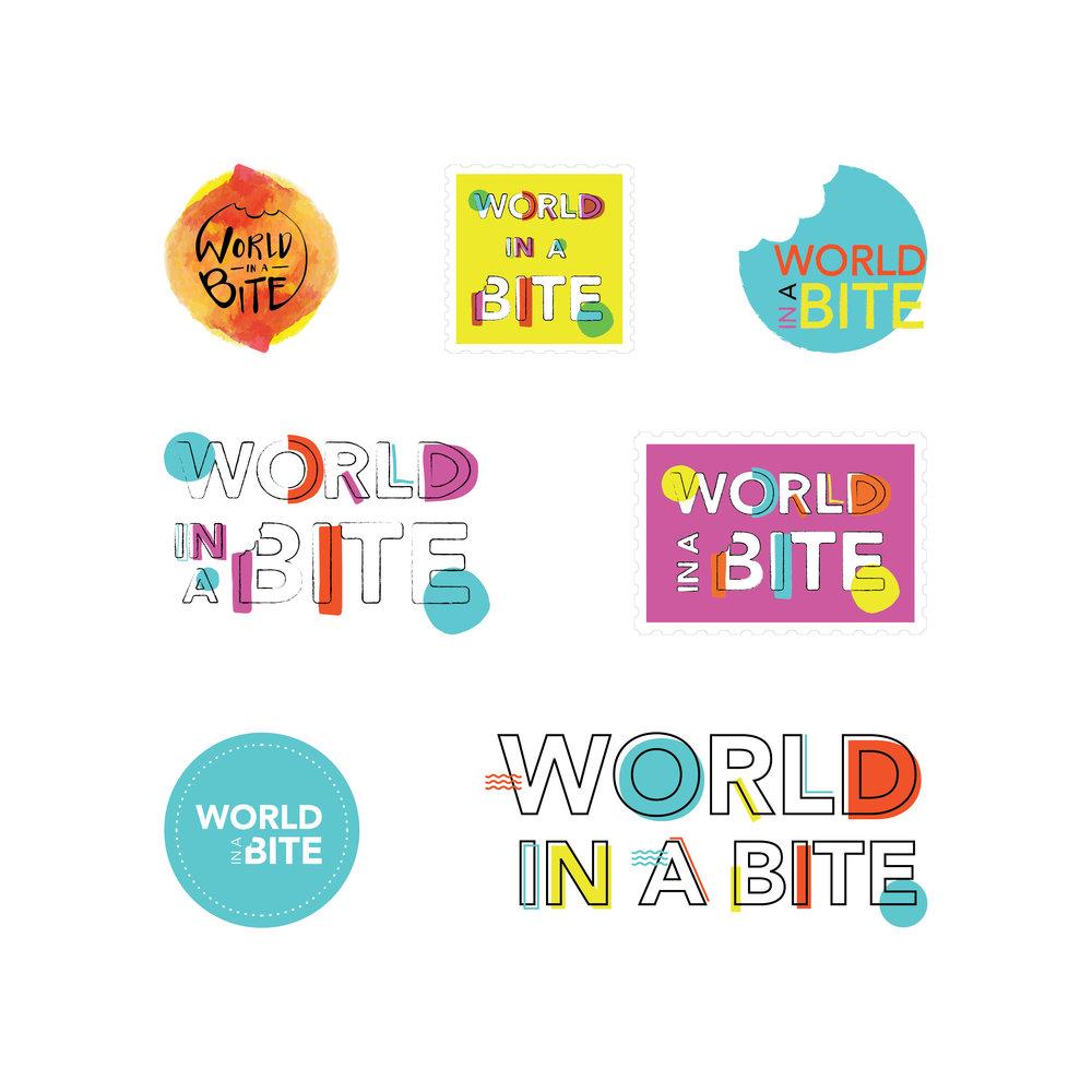 Georgie McKenzie Graphic Design | World In A Bite