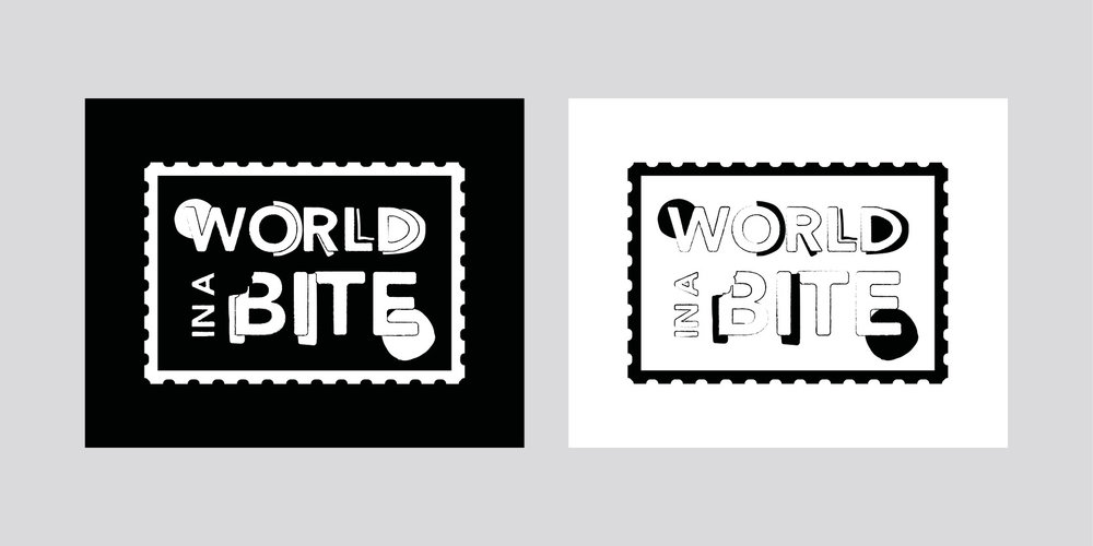 Georgie McKenzie Graphic Design | World In A Bite