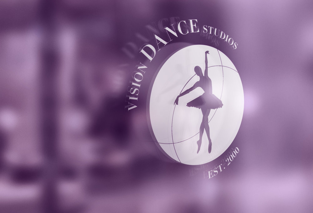 Georgie McKenzie Graphic Design | Vision Dance Studios