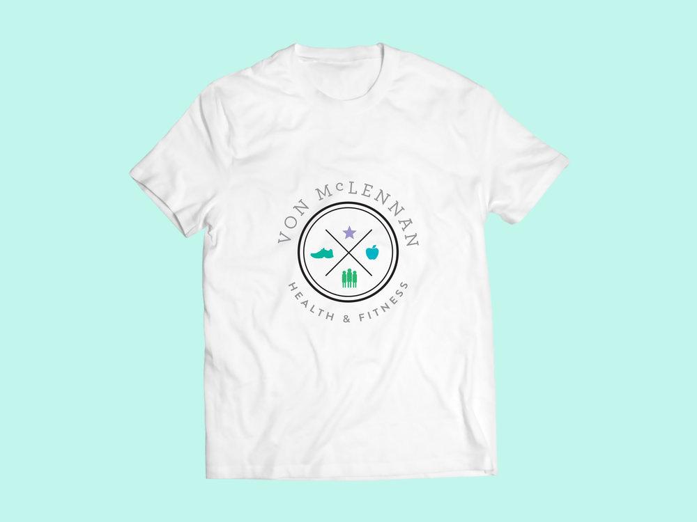Von McLennan Health Fitness | Logo Branding