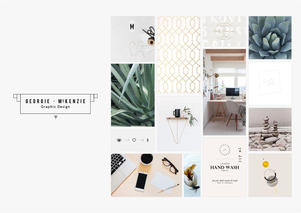 Georgie McKenzie Graphic Design | Blog | Moodboard