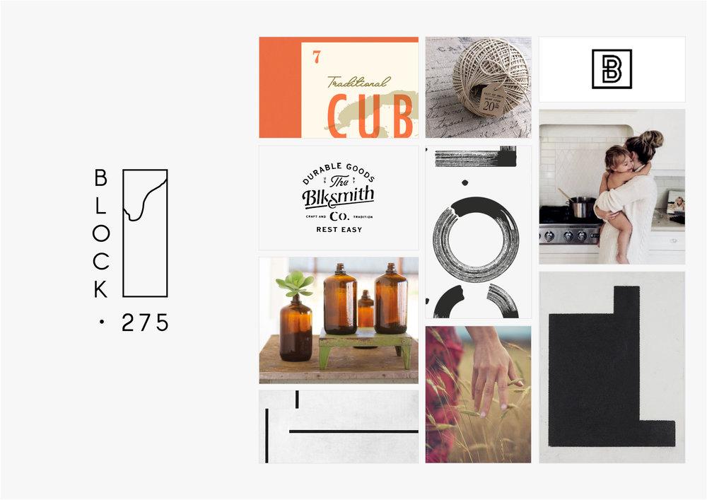 Georgie McKenzie Graphic Design | Blog | Moodboards | Brand - Block 275
