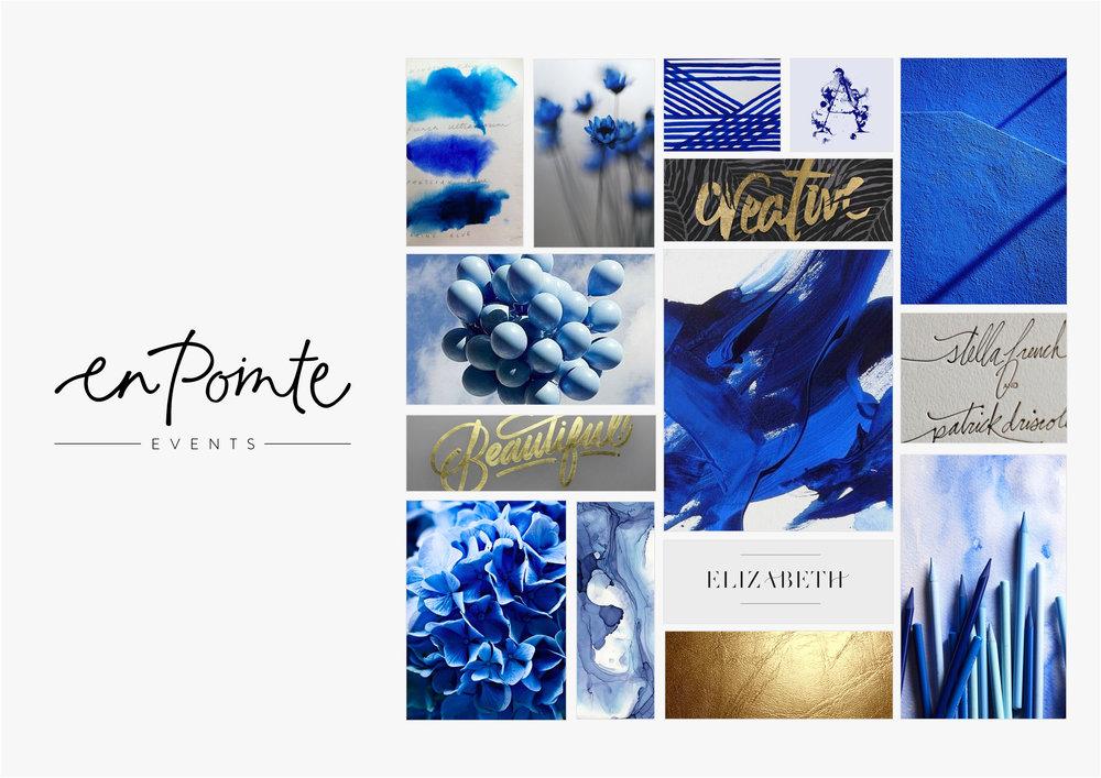 Georgie McKenzie Graphic Design | Blog | Moodboards | Brand - En Pointe Events