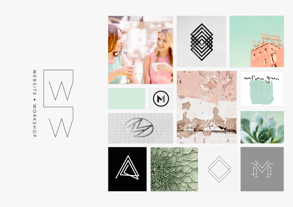Georgie McKenzie Graphic Design | Blog | Moodboards | Brand - Website Workshop