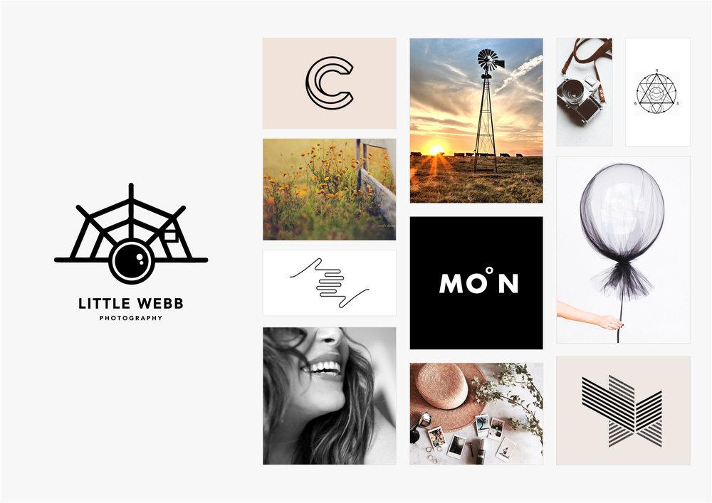 Georgie McKenzie Graphic Design | Blog | Moodboards | Brand - Little Webb Photography