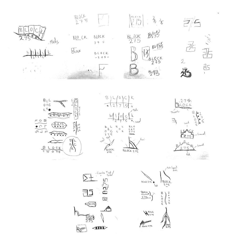 Georgie McKenzie Graphic Design - Block 275 - Brand Design