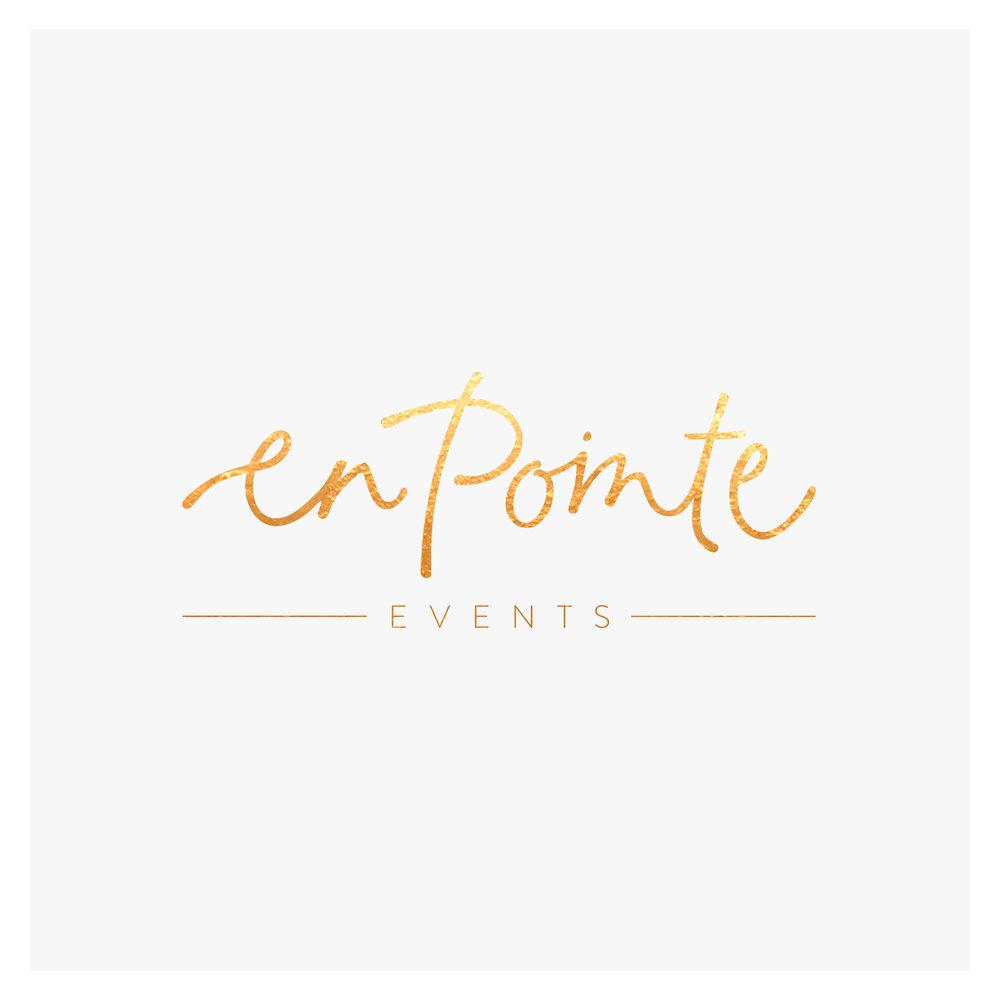 Georgie-McKenzie-Graphic-Design-En-Pointe-Events-Logo-Design