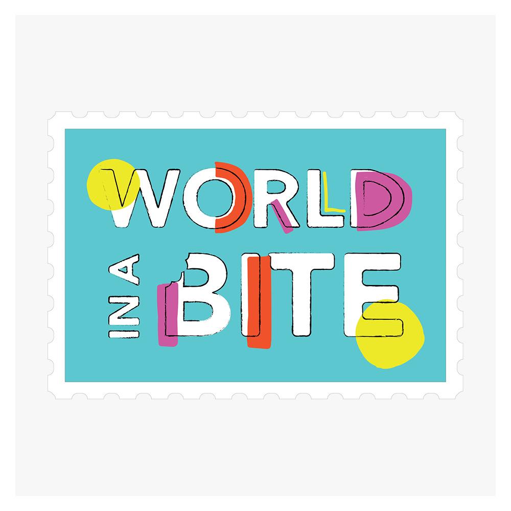 Georgie-McKenzie-Graphic-Design-World-In-a-Bite-Logo-Design