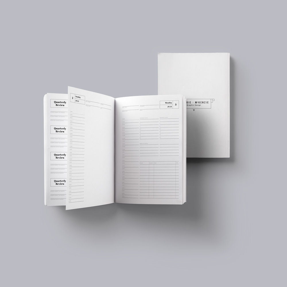 Georgie-McKenzie Graphic-Design-Daily-Planner-and-Calendar-Bundle