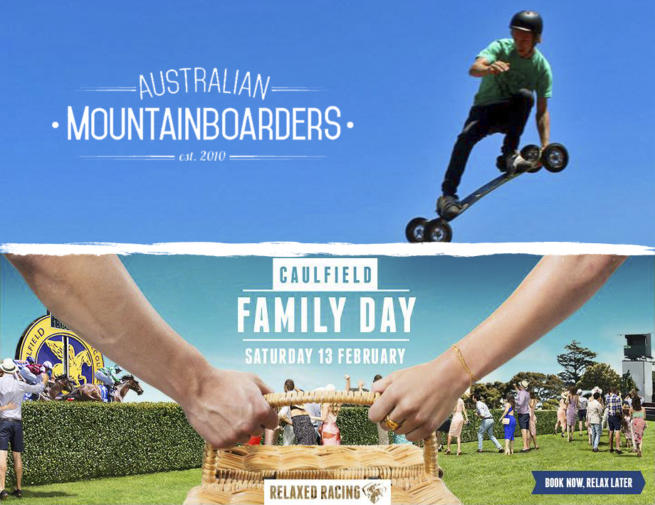 Australian Mountainboarders   are doing FREE Mountainboard stunt shows and Learn to ride workshops this Saturday at Caulfield Racecourse with   Big Air School   come check it out! First show is at 12!      Check out Last years event BELOW: